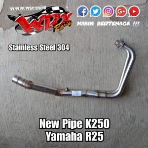 Pipe K250 Yamaha R25 2