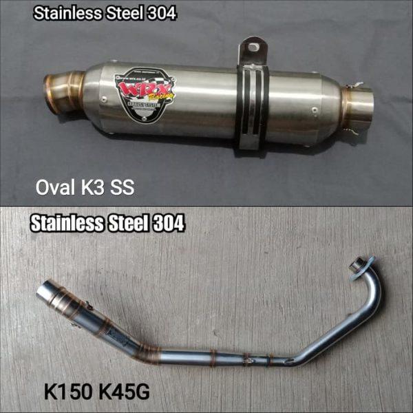 Oval K3 SS K150 K45G 1