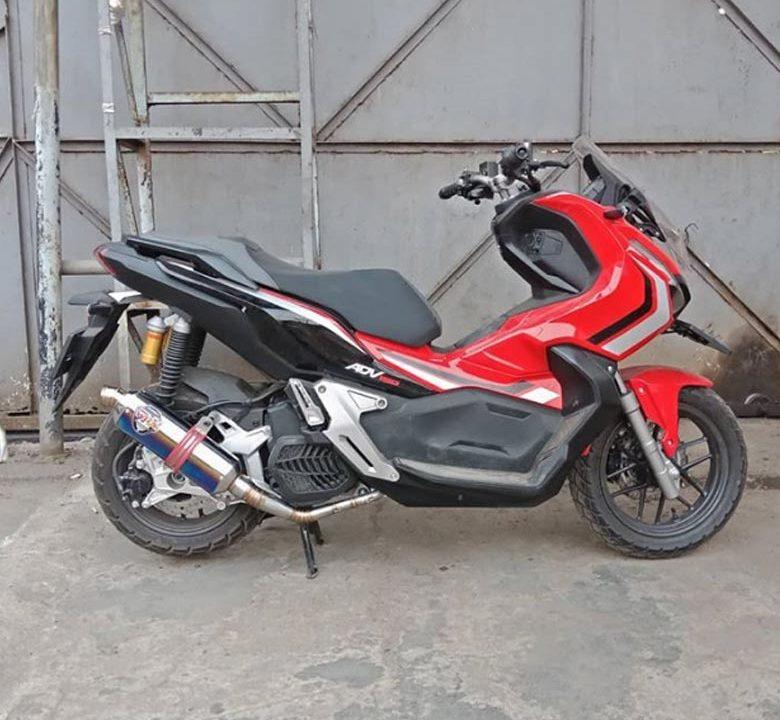 Dyno Test Knalpot GP3 K2 HB K150 Honda Adv 150 4
