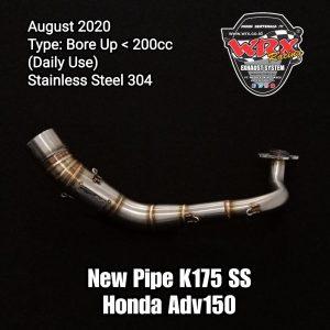 Pipe K175 SS Honda Adv150