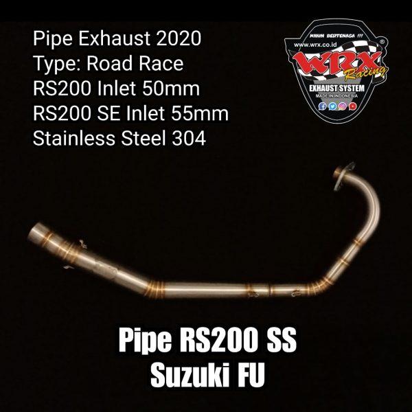 Pipe RS200 SS Suzuki FU