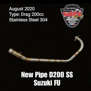 New Pipe D200 SS Suzuki FU
