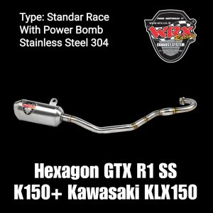 Hexagon GTX R1 SS K150+ Kasawasaki KLX150